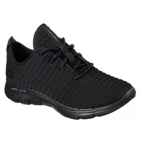 Scarpe da donna Skechers da lavoro nere