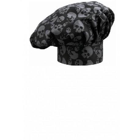 Cappello da cuoco Skulls