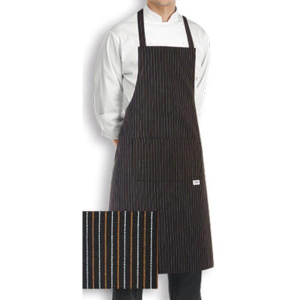 Grembiule da cucina con pettorina (37 colori)