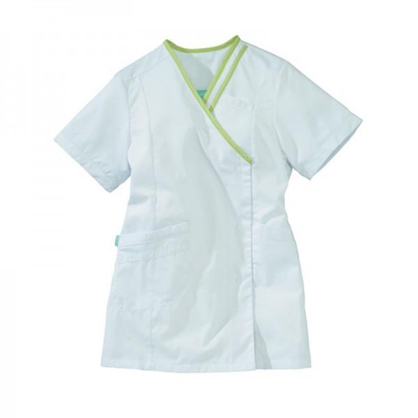 blusa bianca e verde Lafont