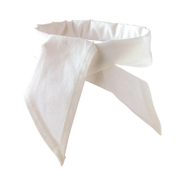 Fazzoletto da cuoco bianco
