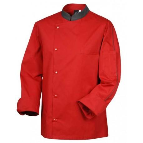 Giacca da cucina rossa - Robur