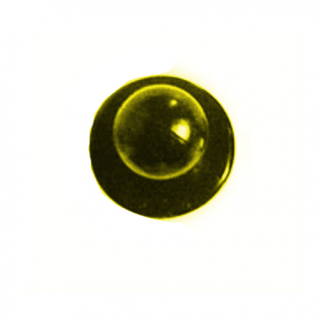 Bottone amovibile oro per giacca da cucina