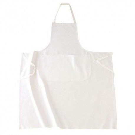 Grembiule da cucina con pettorina 100% cotone