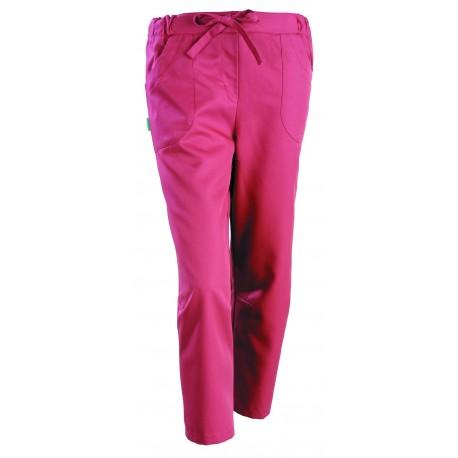 Pantaloni corti estetista Julia rosa ribes