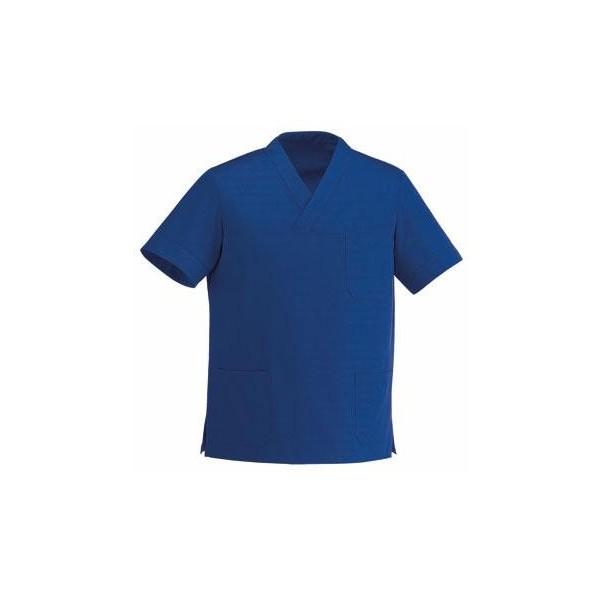 Tunica medica collo V blu reale