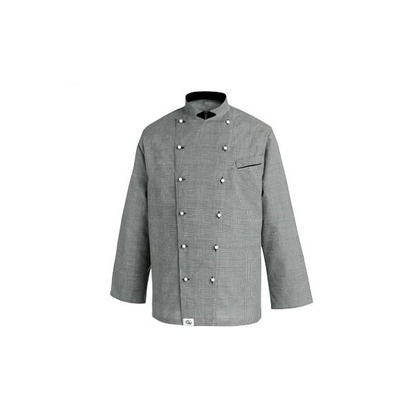 Giacca da cucina grigia – Ego Chef