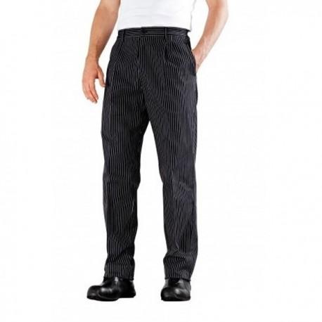 Pantalone da cucina a pieghe Bragard