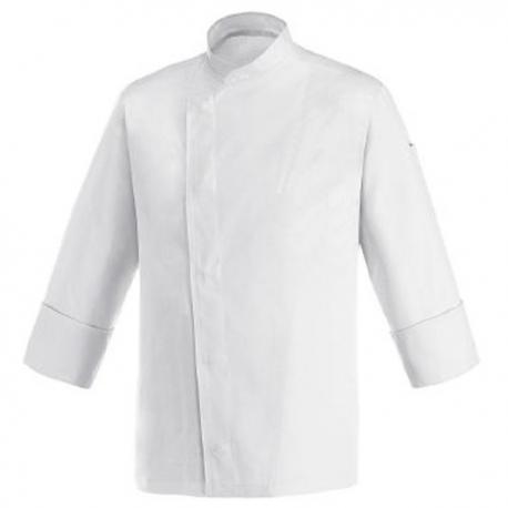 Giacca da cucina bianca con retro traspirante – ML