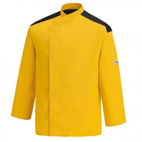 Giacca da cucina gialla – First