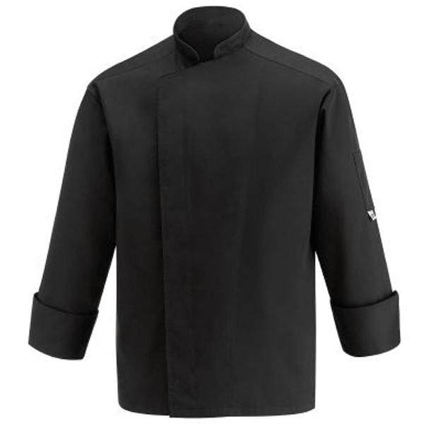 Giacca da cuoco nera spalla aerata - ML