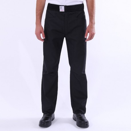 Pantalone da cucina nero Arenal Robur