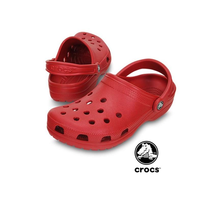 buy online 75ffa 56e4f Sabot sanitari Crocs rossi