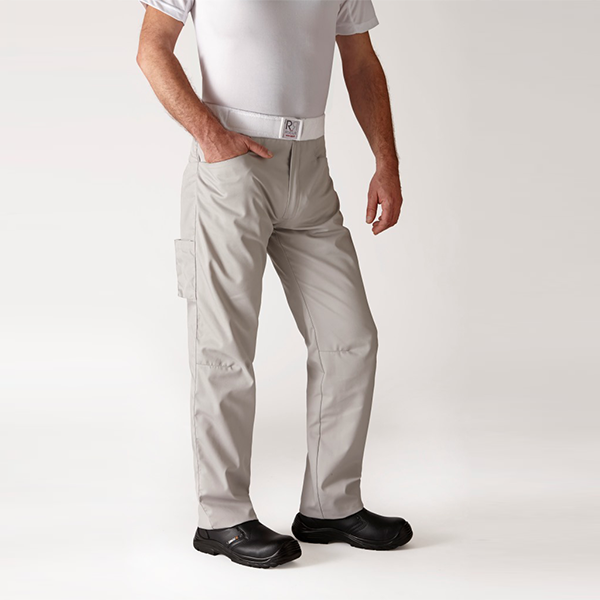 Pantalone da cucina grigio Arenal Robur