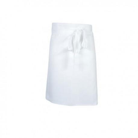 Grembiule bianco da aiuto cuoco 60 cm - Robur a8ae74217c68