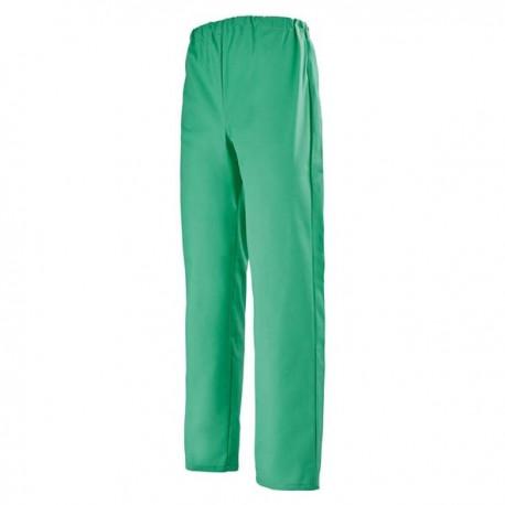 Pantalone da medico elastico verde
