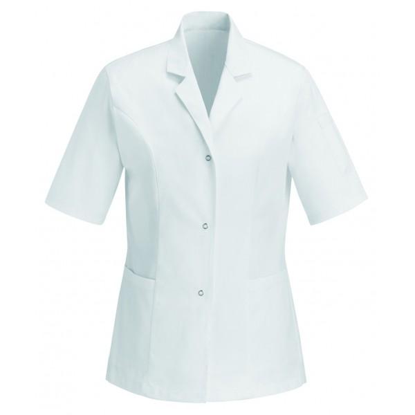 Casacca medica bianca in 100% cotone