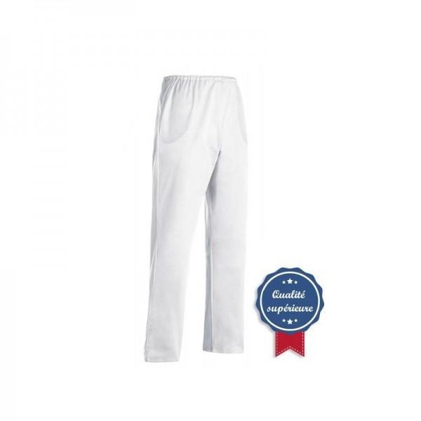 Pantalone da cucina bianco taglia calibrata