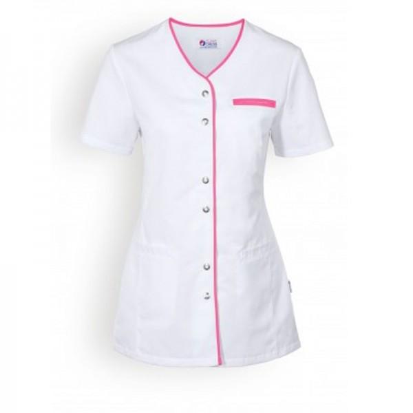 Camice bianco medico con orlo lungo - Clinic Dress