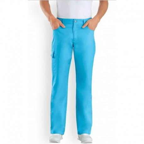Pantalone da medico misto blu - Clinic Dress