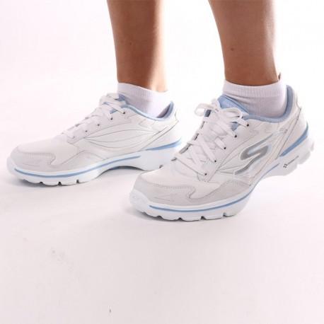 Scarpe bianche e blu - Skechers