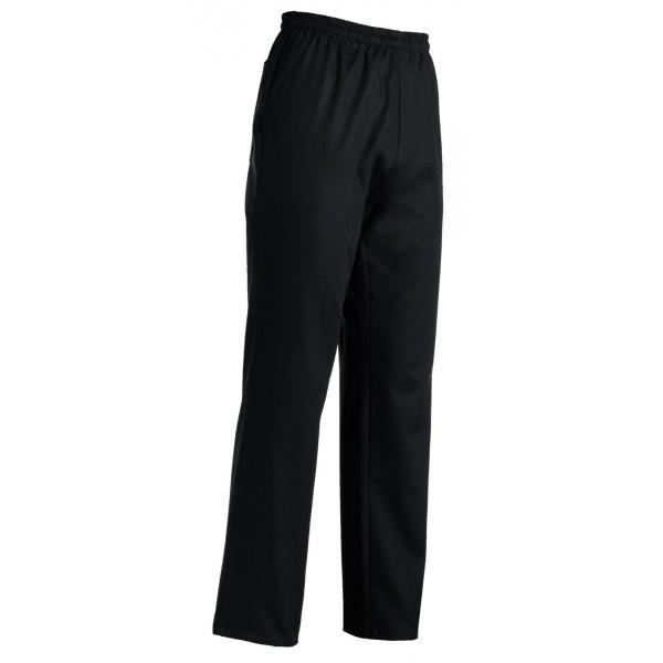 Pantalone da cucina Nero Grande Taglia