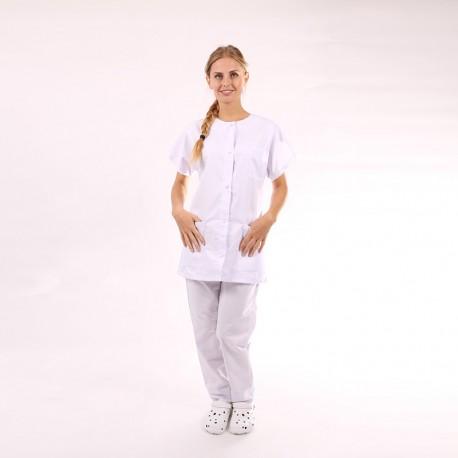 Camice medico donna bianco - Manelli