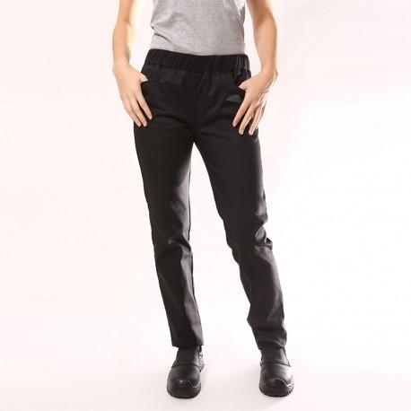 Pantalone da cucina per donna nero Manelli