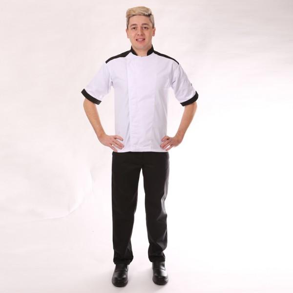 Pantalone da cucina Nero con piega