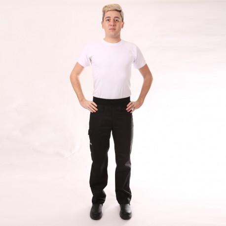 Pantalone da cucina Confort nero