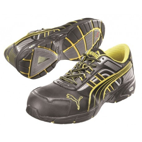 Scarpa antinfortunistica Puma per uomo - Pace black low - S3