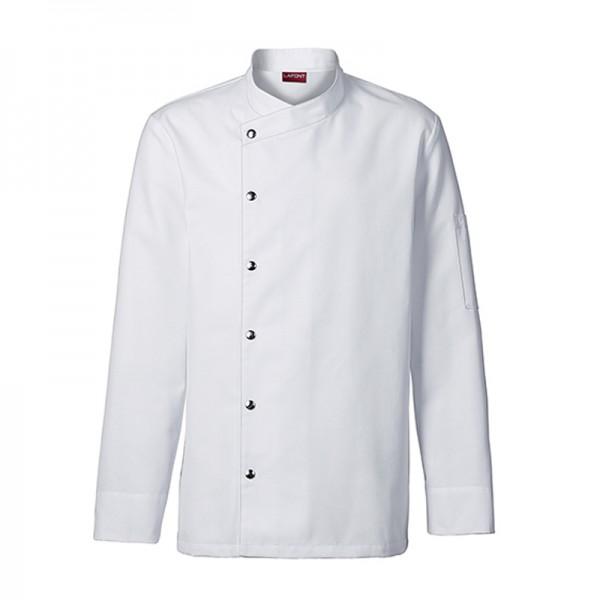 Giacca da chef uomo Mostarda bianca