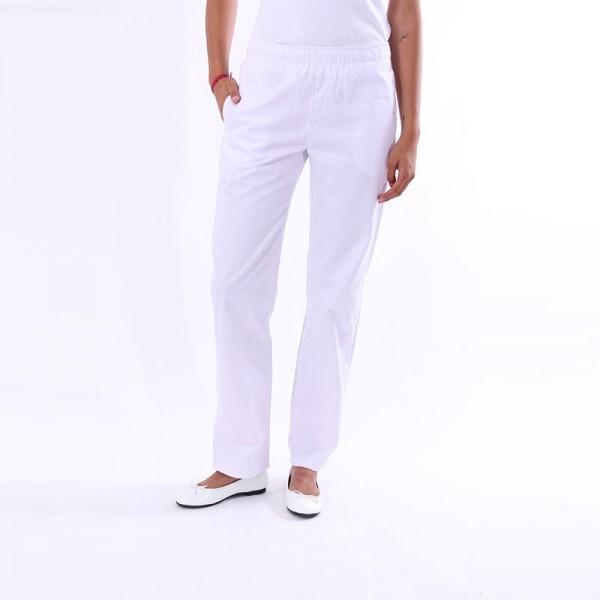 Pantalone da cucina bianco