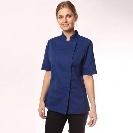 Giacca blu da cucina donna - ML/MC