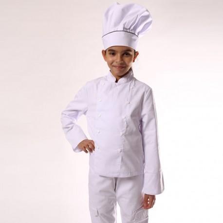 Giacca e grembiule da cuoco per bambino - Abbigliamento da cucina ... e873b3f25bdc