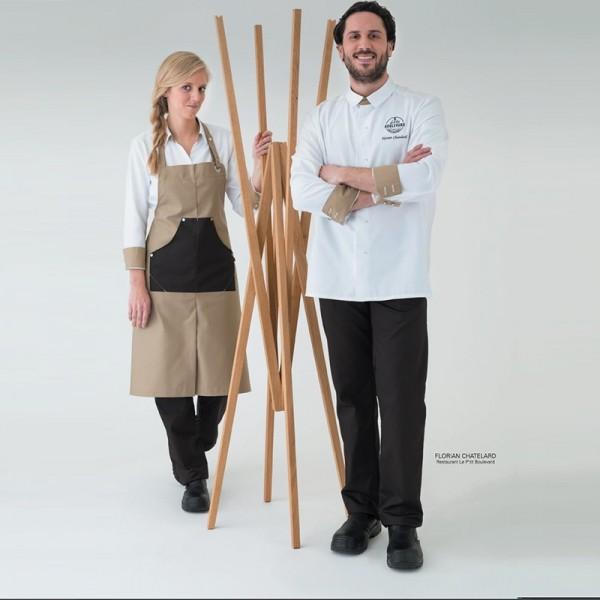 Giacca da chef unisex Vego Robur