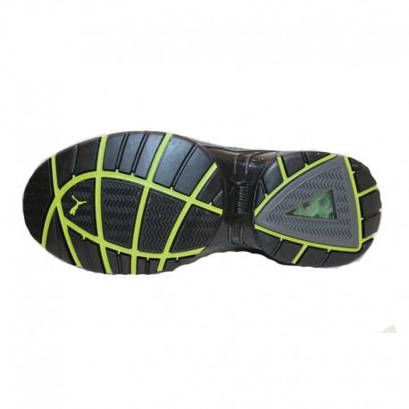 Scarpe di sicurezza sportive Puma fuse motion verde - S1P