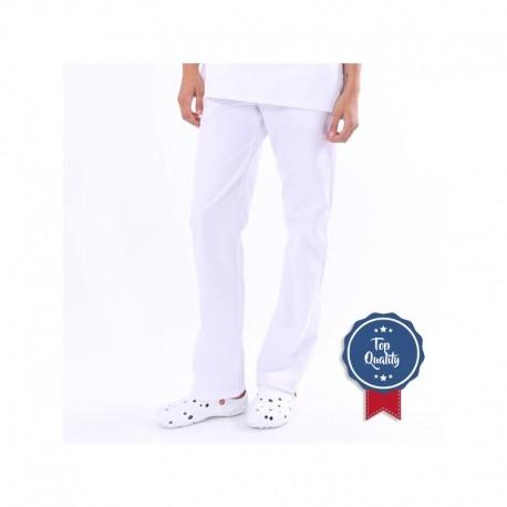 Pantaloni bianchi medici Manelli (regolabili)