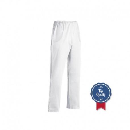 Pantalone estetista bianco taglie forti