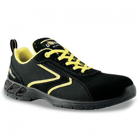 Scarpe antinfortunistiche da basket gialle e nere Daiquiri S1P SRC